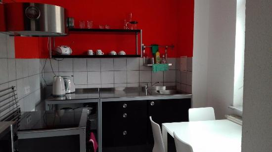Hotel Vielharmonie: Cucina