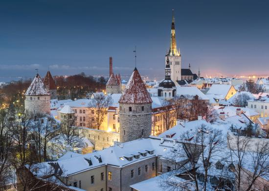 tallinn old town from toompea hill in january picture of. Black Bedroom Furniture Sets. Home Design Ideas