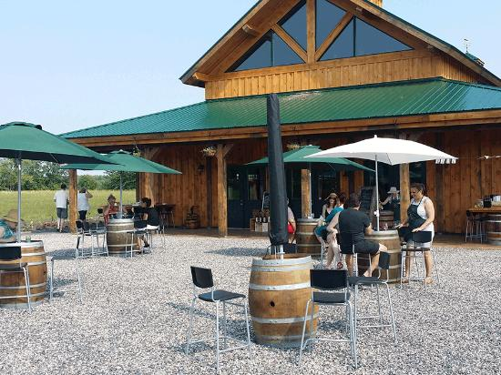 Richmond, Canada : Enjoy sipping wines at our tasting patio