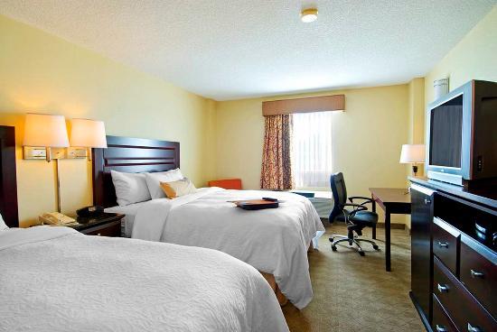 Hampton Inn & Suites by Hilton Calgary-Airport: Standard Double Room