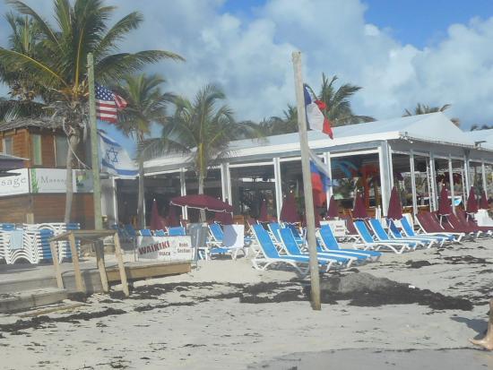Waikiki Beach Bar Restaurant On Orient Beach St Martin