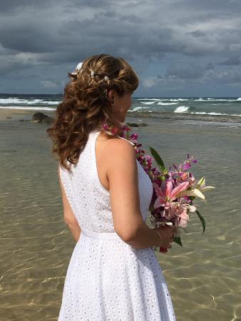Hawaiian Rainforest Spa: Wedding hair