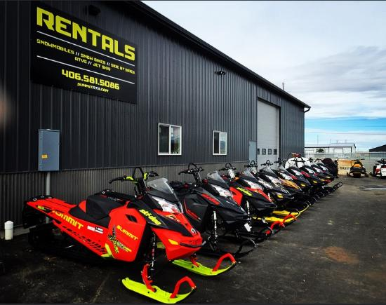Summit Motorsports All Terrain Rentals