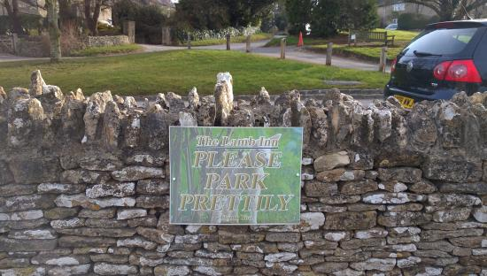 The Lamb Inn: Polite, much