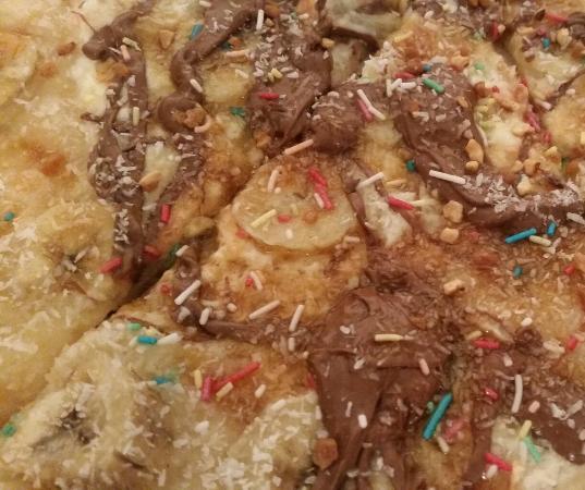 pizzas lino : Pizza dessert