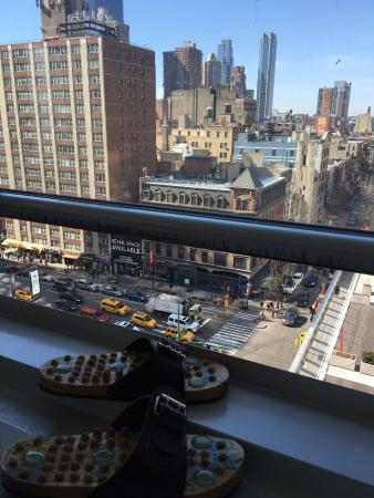 Paramount Hotel Times Square New York Beautiful View From Room