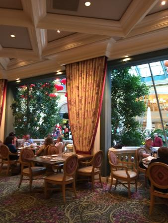 best cafe in bellagio hotel picture of cafe bellagio las vegas rh tripadvisor co uk
