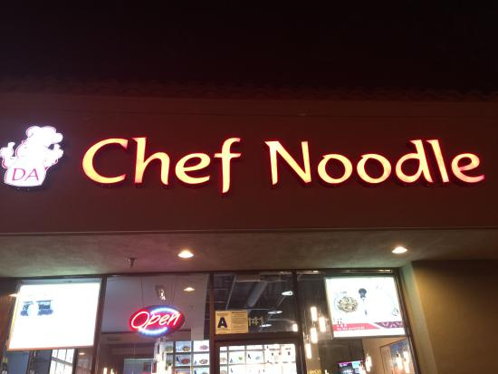 Bermuda Dunes, CA: Da Chef Noodle
