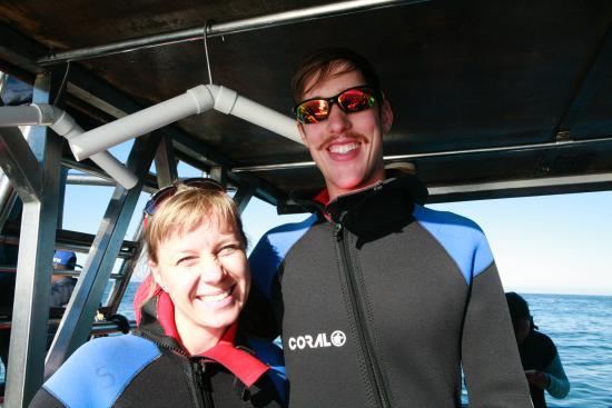 Shark Seekers: Two happy customers!!