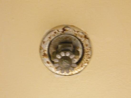 Another sprinkler head in room photo de hilton chicago for 10 drury lane oakbrook terrace illinois 60181