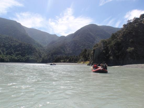 Clarence River Rafting Kaikoura