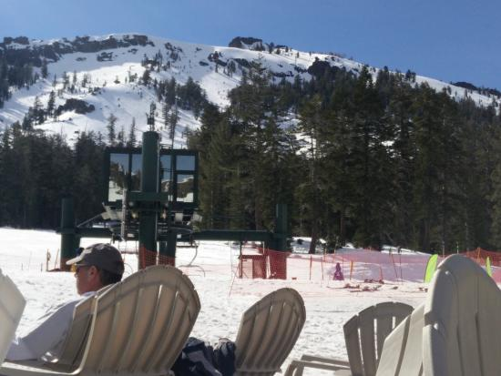 Kirkwood, CA: view of bunny hill