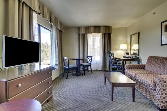 Holiday Inn Express Dahlonega: Jacuzzi Suite