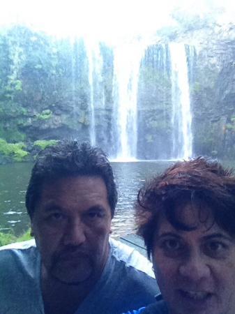 Whangarei, Nueva Zelanda: Bottom off the falls