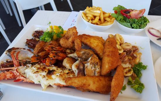The seafood platter for two is magic - Picture of Aristos