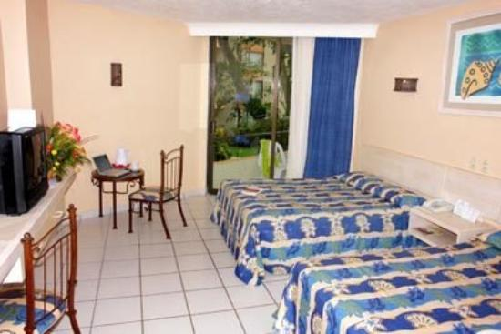 Hotel Fontan Ixtapa: Double Room
