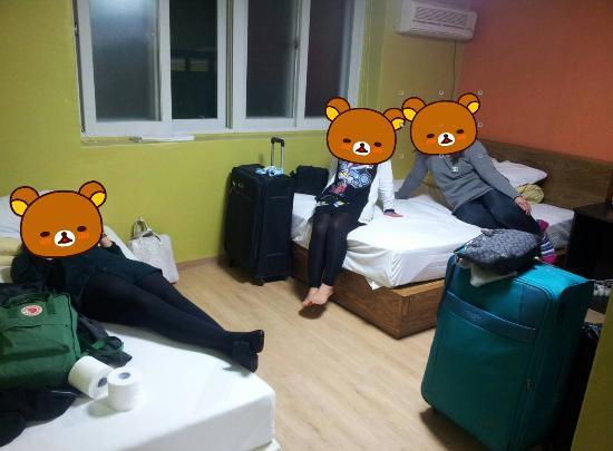 Shinchon Hostel: Family room นอนกัน 4 คน สบายมากก