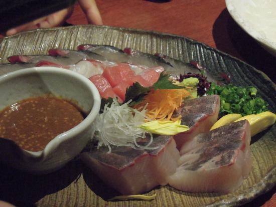 Daimyotsutsujian : 鮮度が高い魚介