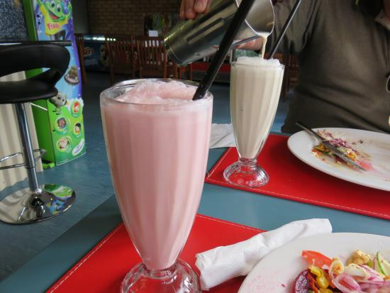 St Marys, Australia: Milkshakes that you get 2 drinks from for $5 is awesome
