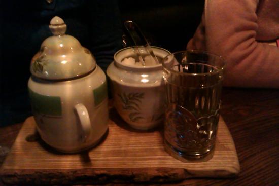 Gastrorock Pub: tea set