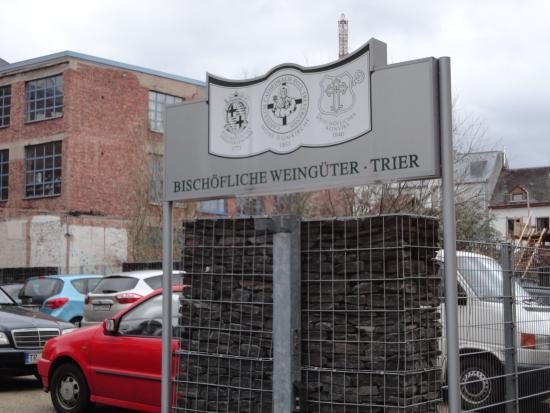 Bischöfliche Weingüter Trier: モーゼルワインの醸造場