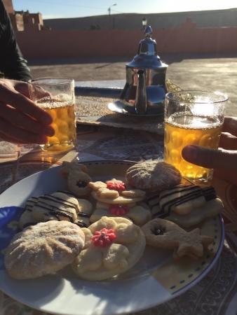 Maison D'Hotes Nouflla: Begrüßung