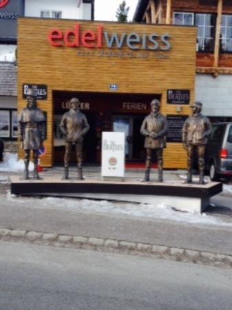 Obertauern, Österreich: Beatles Memorial at Romerstrasse