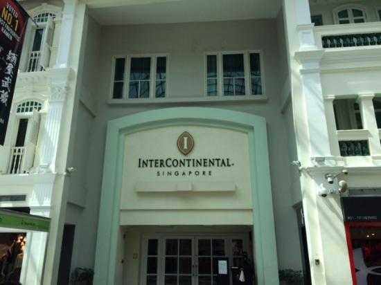 entrance from bugis junction picture of intercontinental singapore rh tripadvisor com sg