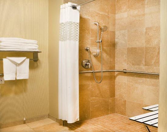 Smithfield, RI: Roll in Shower Bathroom