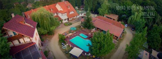 Noszvaj, Hongarije: Nomád Hotel&Glamping