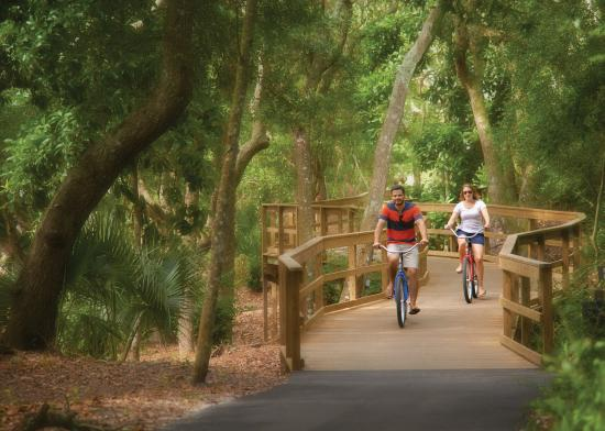 Omni Amelia Island Plantation Resort: Bicycle, island hoppers and segway tours