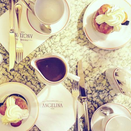 Le salon de th angelina paris restaurant avis num ro de t l phone photos tripadvisor - Salon de the angelina paris ...