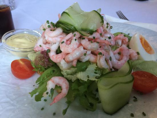 Langesund, Noruega: Shrimp sandwich