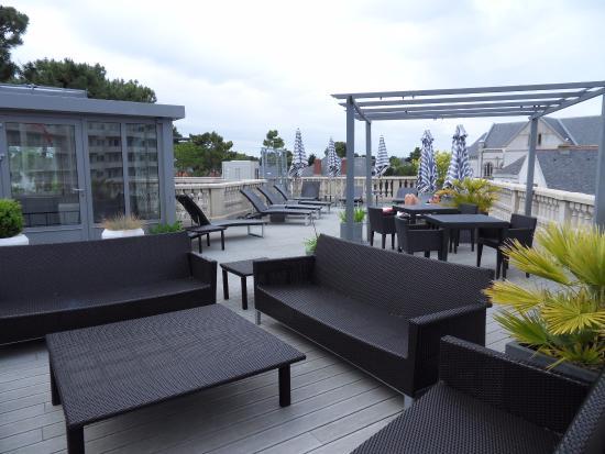 Roof Terrace - Photo De Best Western Brittany La Baule-centre  La-baule-escoublac