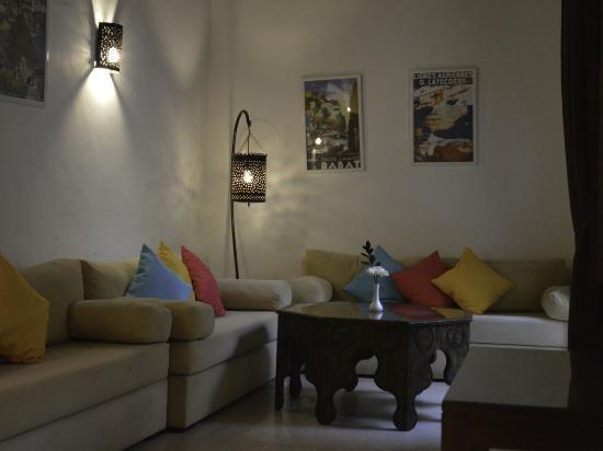 Salon Riad Azahra