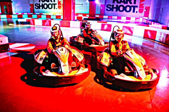 Kart and Shoot Fujairah Mall (Karting & Laser Tag)