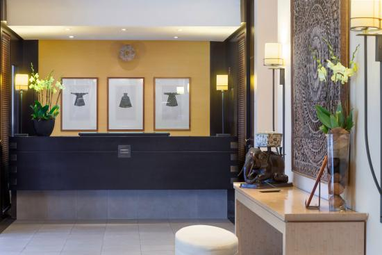 Hotel Jade - Manotel Geneva : Reception