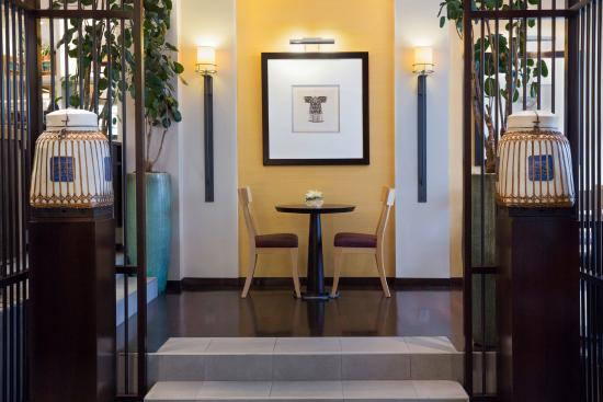 Hotel Jade - Manotel Geneva : Breakfast room