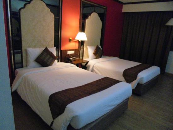 BP Chiang Mai City Hotel: เตียงนอนยวบไปหน่อย