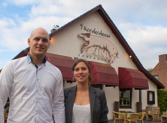 Mook, The Netherlands: Frank en Linda