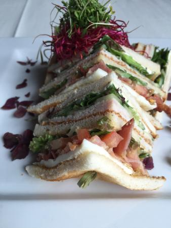 Mook, The Netherlands: Club sandwich