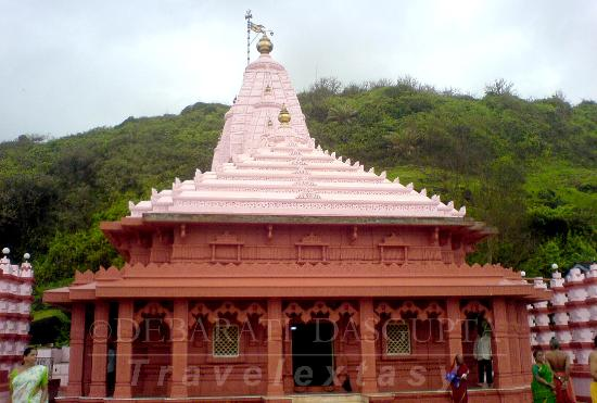 Ratnagiri, Hindistan: The temple