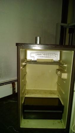 Dover, VT: moldy fridge in exercise room
