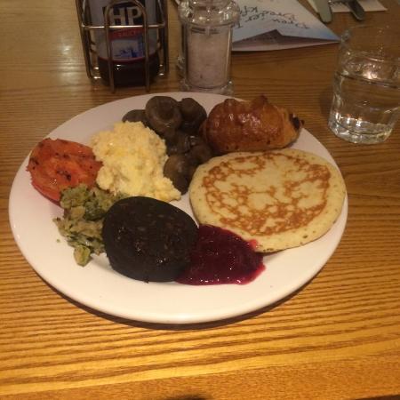 Premier Inn London Leicester Square Hotel: breakfast