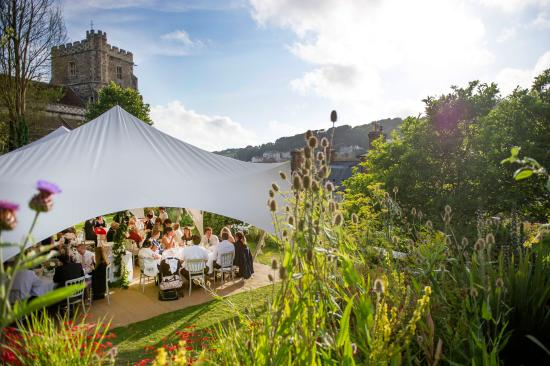Marquee in the Old Rectory Garden