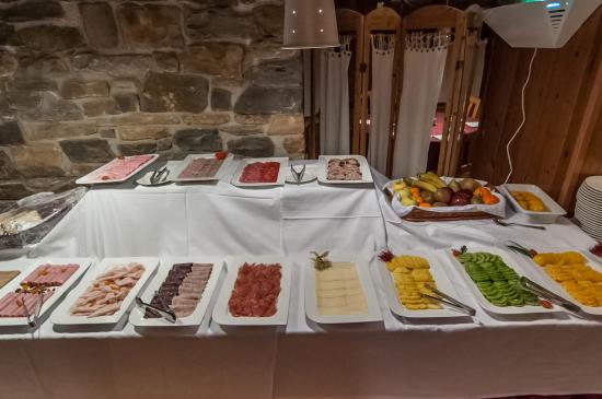 Garos, Spania: Desayuno