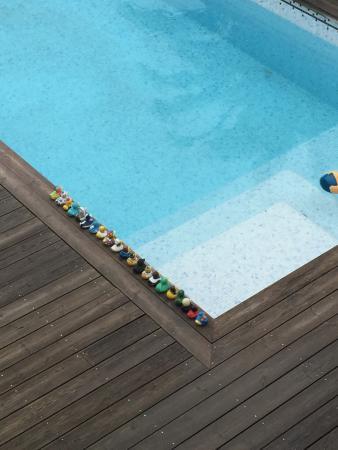 Cote et Dune: La piscine