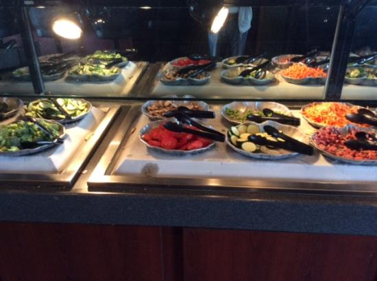 a bit of the salad bar picture of ruby tuesday myrtle beach rh tripadvisor com