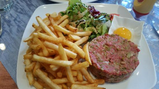 Steak tartare, Chez Papa Fred