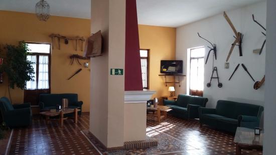 Hotel Villa de Priego de Cordoba: Salón